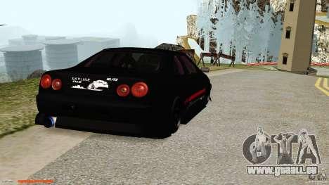 Nissan Skyline ER34 für GTA San Andreas rechten Ansicht