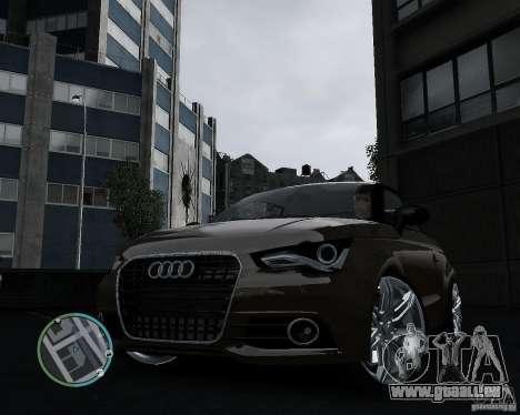 Audi A1 v.2.0 pour GTA 4 Vue arrière de la gauche