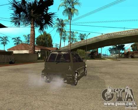 OKA 1111 Z.V.E.R. Tuning pour GTA San Andreas sur la vue arrière gauche