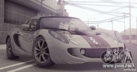 Lotus Elise 111s 2005 v1.0 für GTA San Andreas Seitenansicht