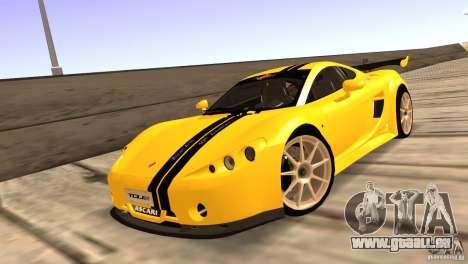 Ascari A10 für GTA San Andreas Innenansicht