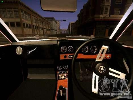 Mitsubishi Galant GTO-MR für GTA San Andreas rechten Ansicht