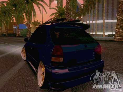 Honda Civic JDM Hatch für GTA San Andreas rechten Ansicht