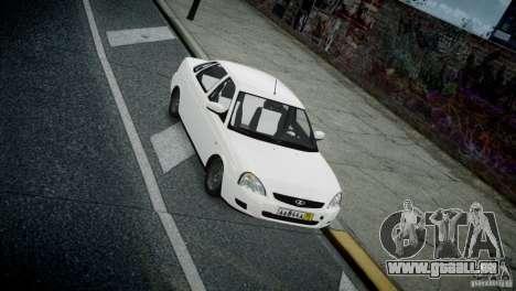 Lada Priora für GTA 4 Innenansicht