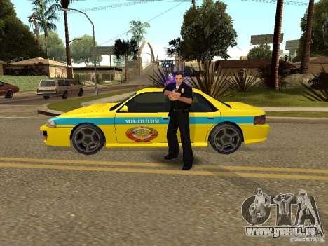 Sultan USSR Police für GTA San Andreas zurück linke Ansicht