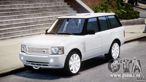 Range Rover Supercharged 2009 v2.0 pour GTA 4