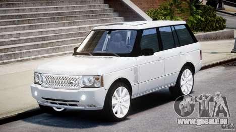 Range Rover Supercharged 2009 v2.0 pour GTA 4