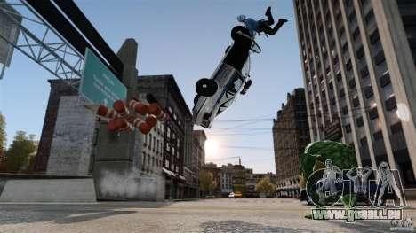 Hulk-Skript für GTA 4 Sekunden Bildschirm
