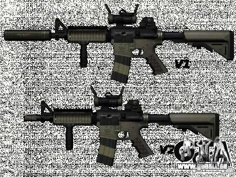 M4 de Call of Duty : Modern Warfare pour GTA San Andreas
