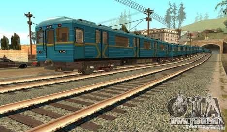 U-Bahn Typ Igel für GTA San Andreas