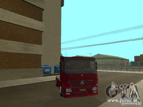 Mercedes Actros Tracteur 3241 pour GTA San Andreas vue intérieure