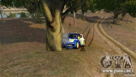 Subaru Impreza WRX STI Rallycross BFGoodric für GTA 4 Seitenansicht