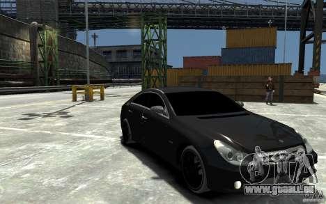 Mercedes Benz CLS Brabus Rocket 2008 pour GTA 4 Vue arrière