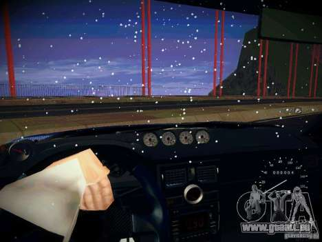 Lada Priora Turbo v2.0 pour GTA San Andreas vue de côté