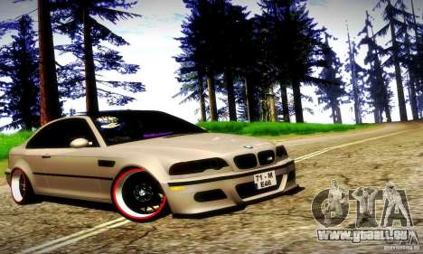 BMW M3 JDM Tuning für GTA San Andreas Innen