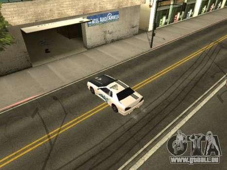 Vinyle pour Elegy pour GTA San Andreas deuxième écran