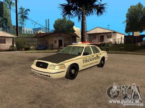 Ford Crown Victoria 2003 Police für GTA San Andreas
