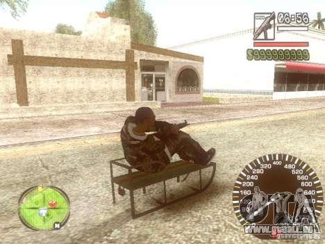Sani für GTA San Andreas obere Ansicht