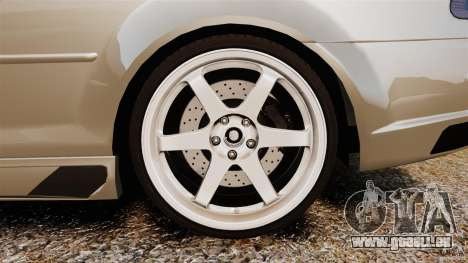 BMW M3 E46 pour GTA 4 est une vue de l'intérieur