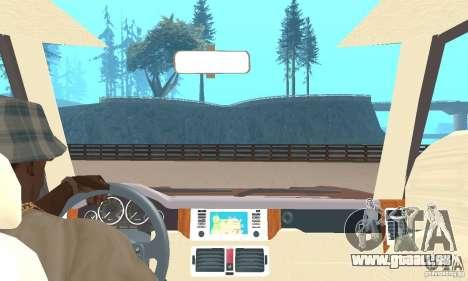 Range Rover Vogue 2004 pour GTA San Andreas vue arrière