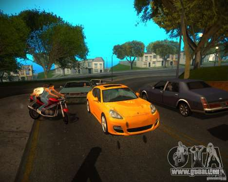 ENBSeries Realistic pour GTA San Andreas quatrième écran