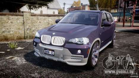 BMW X5 xDrive 4.8i 2009 v1.1 für GTA 4