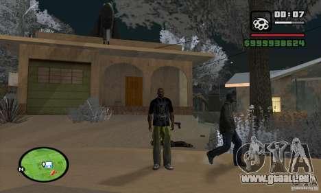 Monster energy suit pack pour GTA San Andreas quatrième écran