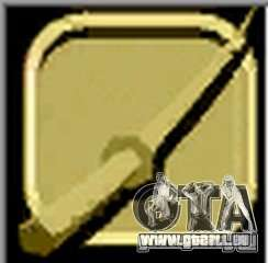 Gold Katana GTA Vice City pour la troisième écran