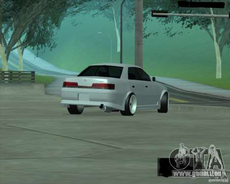 Toyota Mark II Tuning pour GTA San Andreas vue de droite