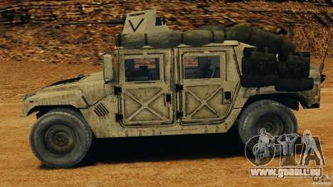 HMMWV M1114 v1.0 für GTA 4 linke Ansicht