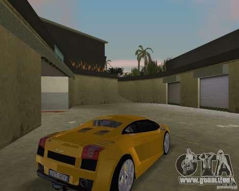 Lamborghini Gallardo v.2 pour une vue GTA Vice City de la droite