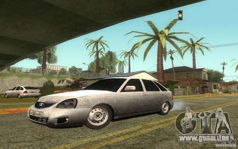 Lada Priora 2172 Schrägheck für GTA San Andreas Seitenansicht