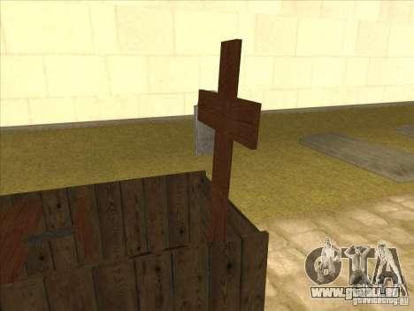 Jesus Kistenmobil pour GTA San Andreas laissé vue