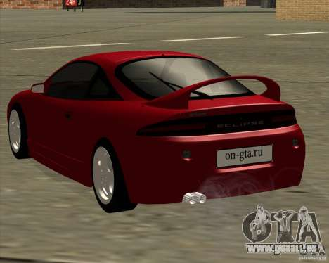 Mitsubishi Eclipse GS-T für GTA San Andreas rechten Ansicht