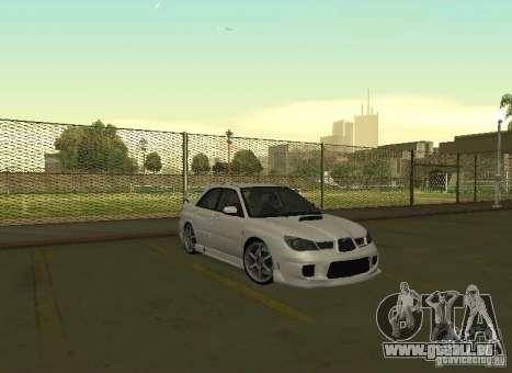 Subaru Impreza WRX STI-Street Racing für GTA San Andreas Seitenansicht
