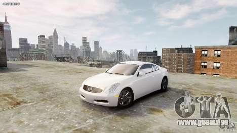 Infiniti G35 pour GTA 4