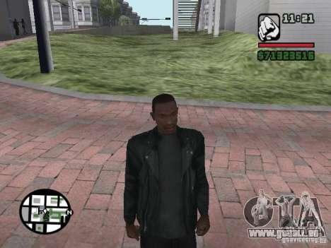 Jacke ohne ein Bild von hinten für GTA San Andreas zweiten Screenshot