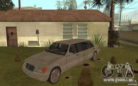 Mercedes-Benz S600 W140 Pullmann für GTA San Andreas