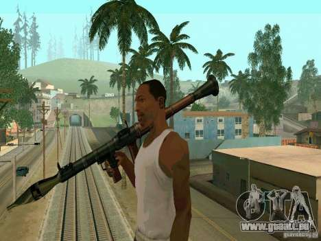 RPG de BF2 pour GTA San Andreas