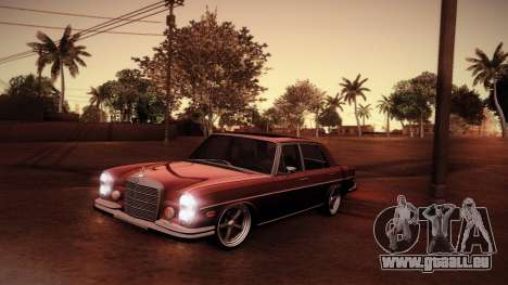 Mercedes Benz 300 SEL - Custom RC3D Edit für GTA San Andreas obere Ansicht