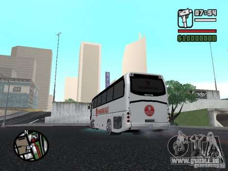 Neoplan Tourliner für GTA San Andreas linke Ansicht