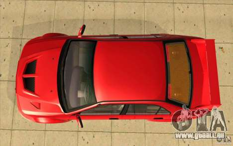 Mitsubishi Lancer Evo 6 pour GTA San Andreas vue de droite