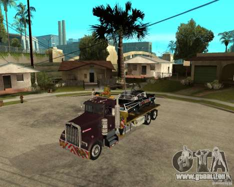 Kenworth W900 SALVAGE TRUCK pour GTA San Andreas