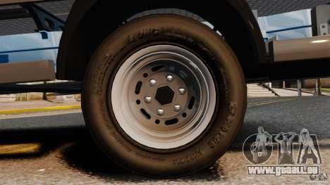 Mercedes-Benz Sprinter 3500 Car Transporter pour GTA 4 vue de dessus