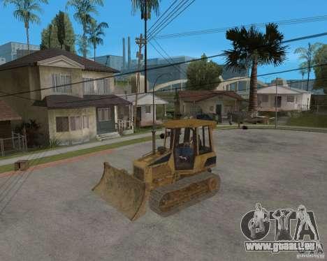 Bulldozer de COD 4 MW pour GTA San Andreas vue intérieure