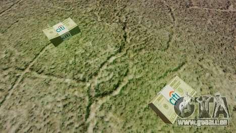 L'encours des billets en coupures de 20 $ aux Ét pour GTA 4 secondes d'écran