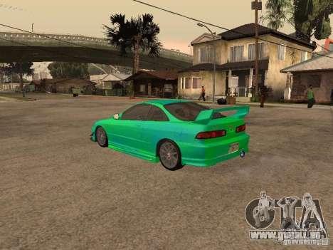 Honda Integra 2000 für GTA San Andreas Motor