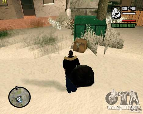 Papierkorb zu machen für GTA San Andreas her Screenshot
