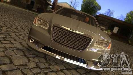 Chrysler 300 SRT-8 2011 V1.0 für GTA San Andreas Innenansicht