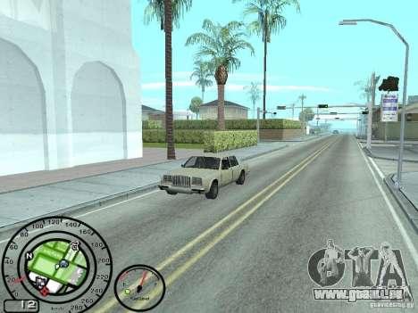 Tacho mit Tankanzeige für GTA San Andreas zweiten Screenshot